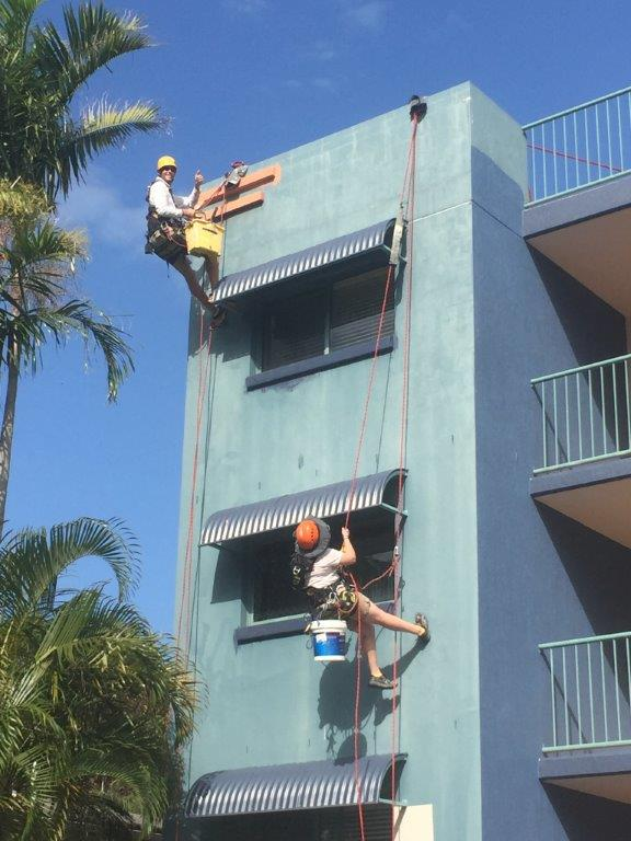 Sunshine Coast residential building painting